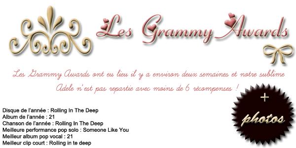 Adele contre Karl Lagerfeld + Retour sur les Grammy Awards