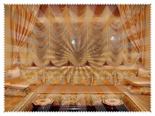 Blog de salons marocains salons marocains 2013 2014 for Style de rideaux pour salon