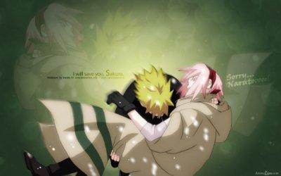 Naruto le protecteur de Sakura.L'amour de Naruto est-il sinc�re?