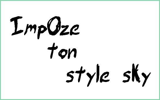 imp0ze-ton-style