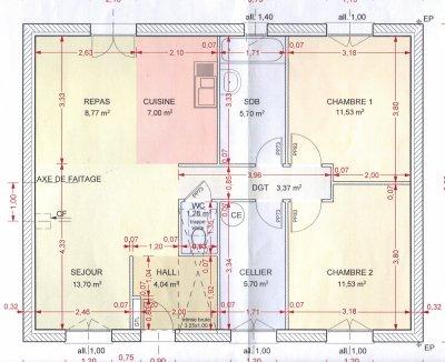 plan de maison notre aventure maison mikit. Black Bedroom Furniture Sets. Home Design Ideas