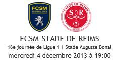 2013 Ligue 1 J16 SOCHAUX REIMS , l'avant match, le 03/12/2013