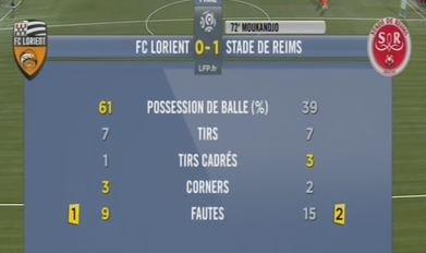 2014 Ligue 1 J06 LORIENT REIMS 0-1, le live, le 20/09/2014