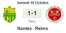 2014 Ligue 1 J10 NANTES REIMS 1-1, le 18/10/2014