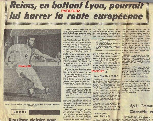 2014 Ligue 1 J34 REIMS LYON , l'avant match, le 26/04/2015
