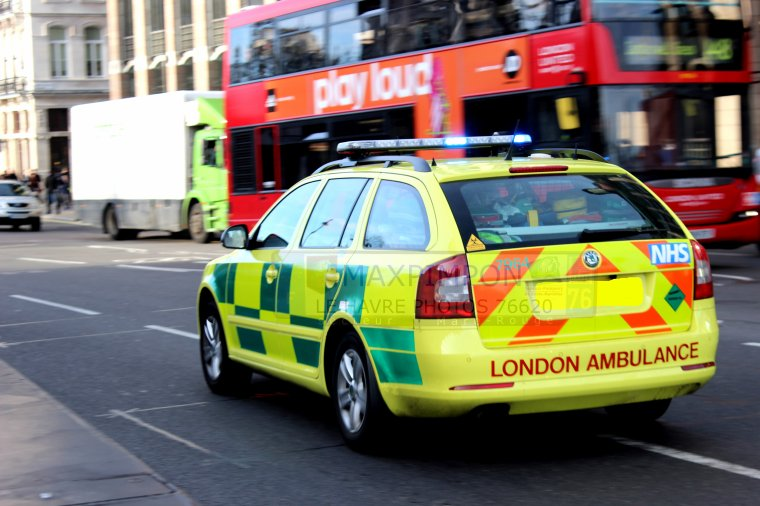V�hicule M�dicale / LONDON AMBULANCE ( LONDRES )