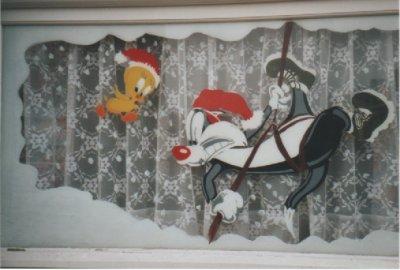 Blog de paradisdesoceans mon monde moi - Decoration de noel pour fenetre ...