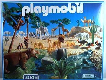 12c animaux de la savane d sert 3046 set animaux de savane - Playmobile savane ...