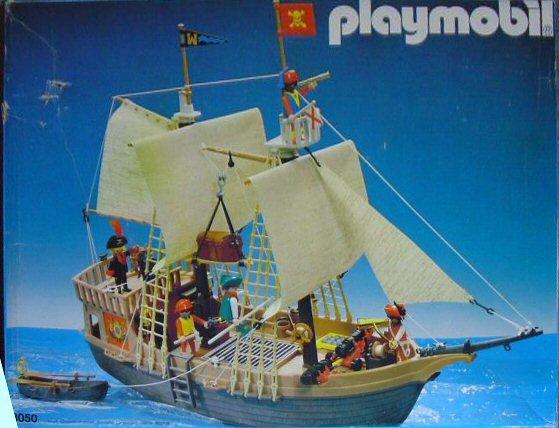 06 navire barque 3050 bateau corsaire photo archive article playmobil - Playmobil bateau corsaire ...