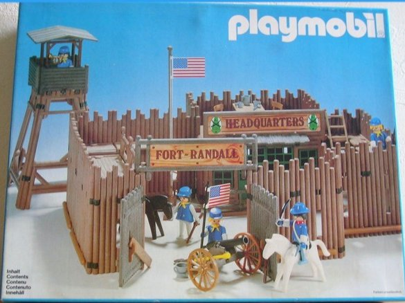 07d fort 3419 fort randall photo archive article playmobil for Plan chateau fort playmobil