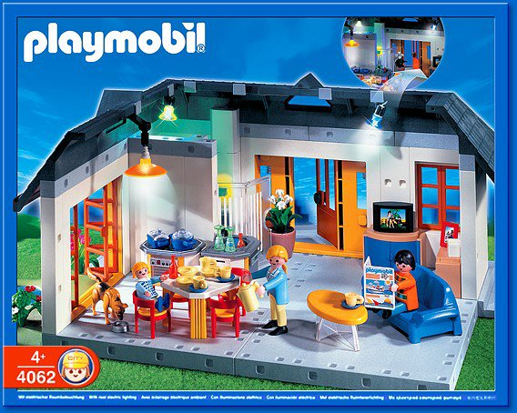 9 maison moderne 4062 maison avec clairage int rieur. Black Bedroom Furniture Sets. Home Design Ideas