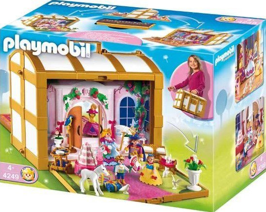 5 royaut monarchie 4249 coffre de princesses transportable photo archive article playmobil. Black Bedroom Furniture Sets. Home Design Ideas