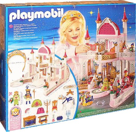 5 royaut monarchie 4250 ch teau de princesse 7848 for Chateau playmobil 4250