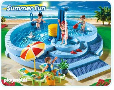 9b maison moderne exterieur 5964 piscine photo archive for Piscine playmobil