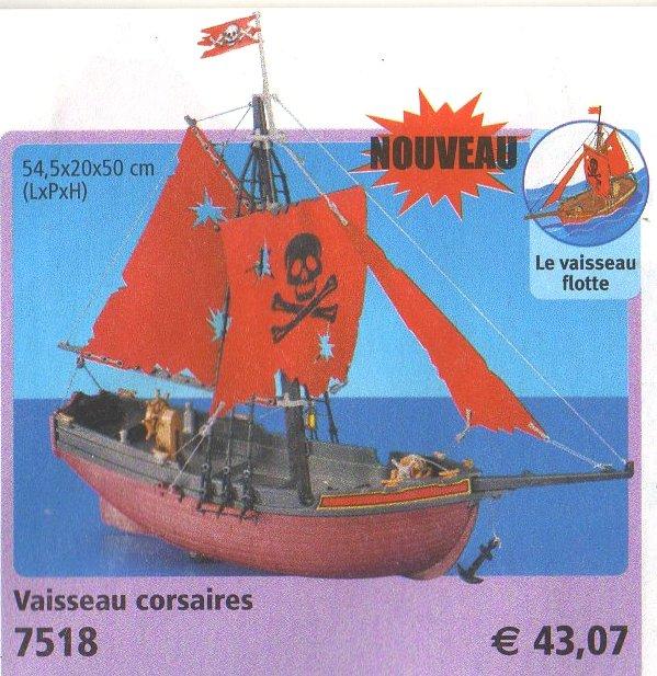 06 navire barque 7518 vaisseau corsaires photo archive article playmobil - Playmobil bateau corsaire ...