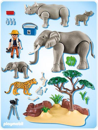 12a animaux de la jungle 5275 wwf savane africaine avec - Animaux savane africaine ...