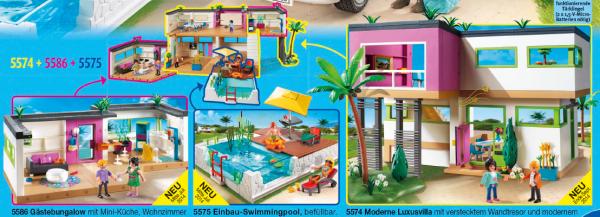 Stunning Playmobil Modernes Villa Ideas - Sledbralorne.com ...
