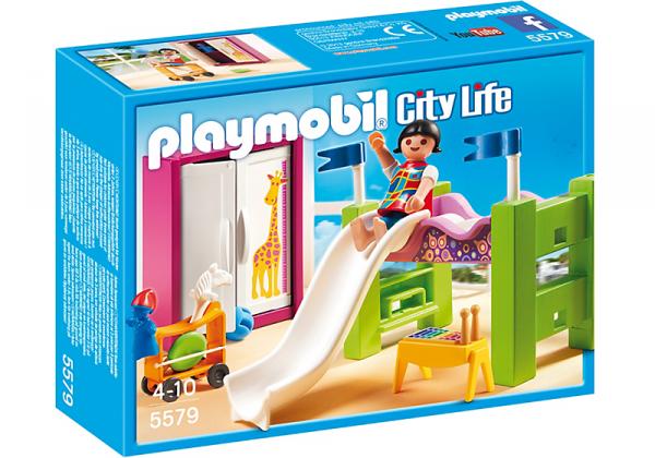 Chambre Moderne Playmobil : Maison moderne luxe chambre d`enfant avec lit