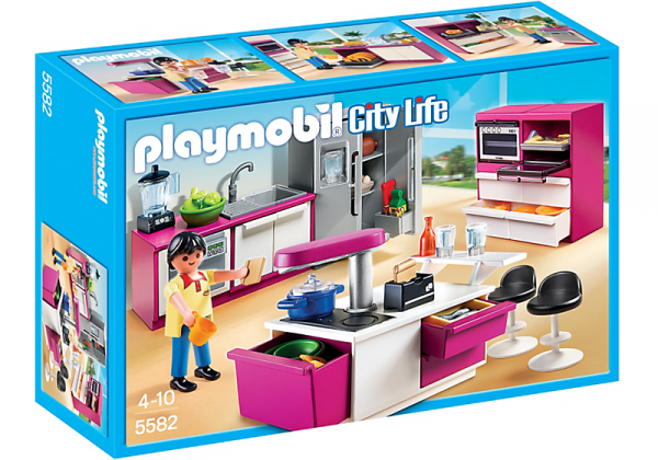102 Casa Moderna De Lujo Playmobil - jouet playmobil city maison ...