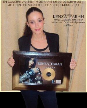 L'album TRESOR est disque d'or !