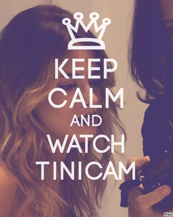 keep calm and watch tinicam blog de martina stoessel