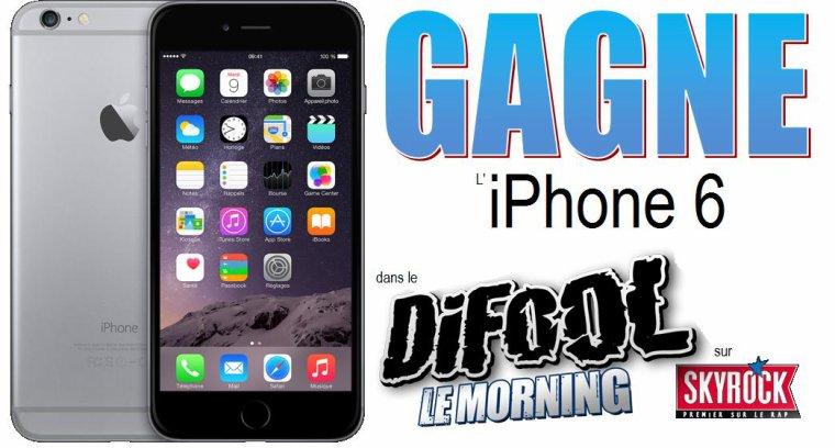 recevez gratuitement le nouvel iphone 6