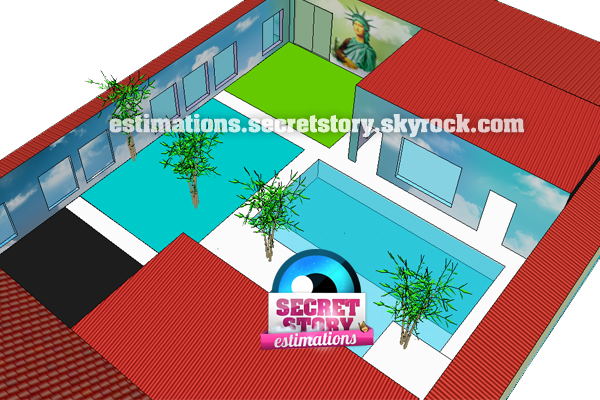 Voici la maison des secret 6 en 3d