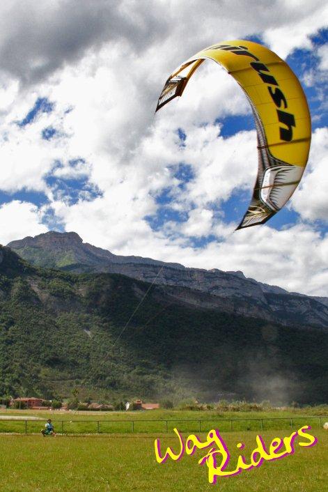 Kitesurfing Pr�paring