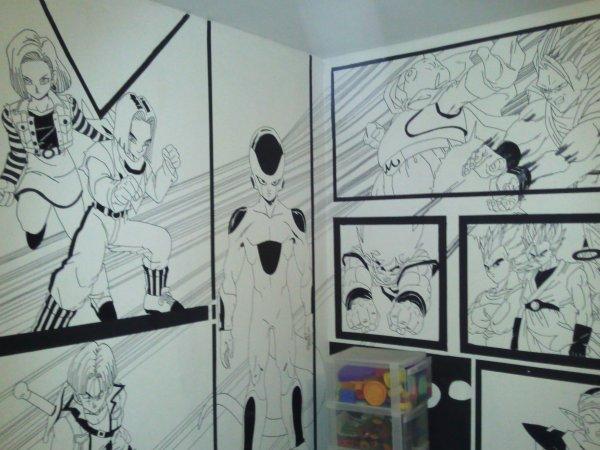 Chambre DRAGON BALL Z  Blog de Decoration chambre