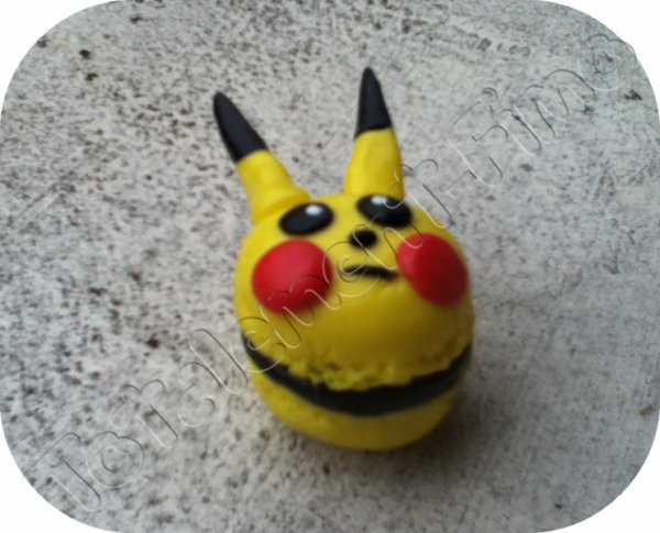 Macaron Pikatchu
