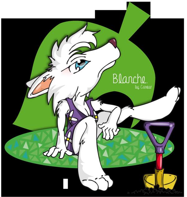 Blanche ❤ ❀