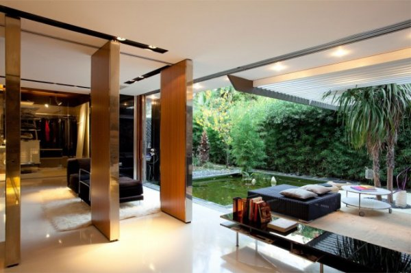 Univers du luxe maison villa contemporaine par 314 for Studio v architecture