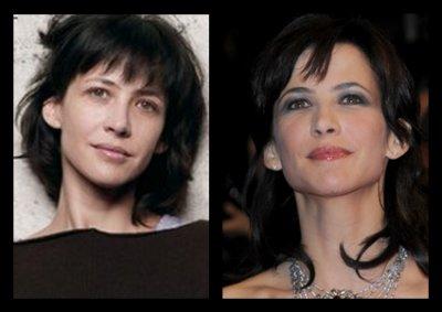 Sophie marceau stars sans maquillage - Sophie davant sans maquillage ...