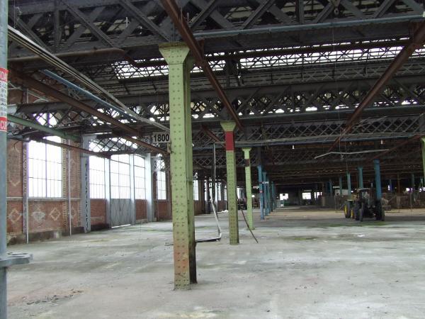 L 39 int rieur de l 39 usine de la soci t fran aise vierzon for Interieur usine