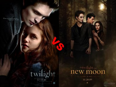Twilight 1 VS Twilight 2