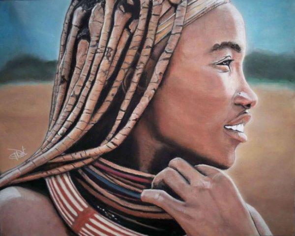 Femme de tribu africaine blog de thug prod444 - Africaine dessin ...