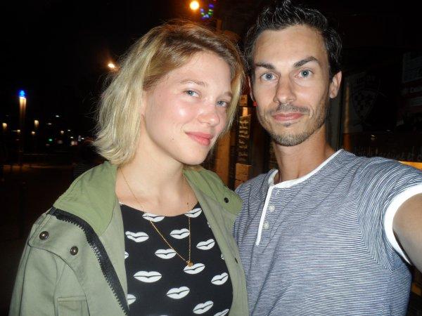 Lea Seydoux couple