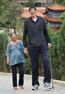 Homme le plus grand du monde