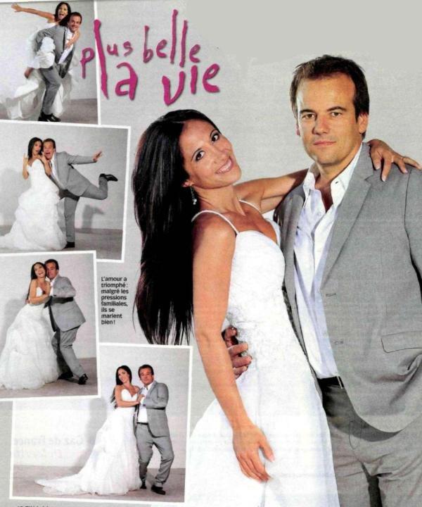 Boher et samia en tenu de mariage for Belle boutique de mariage