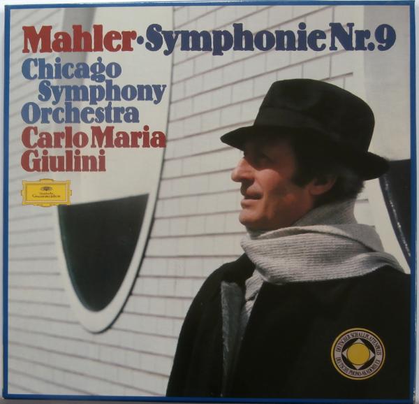 GIULINI MAHLER 9 ORIGINAL GERMAN STEREO  DGG (2 LP) NEAR MINT