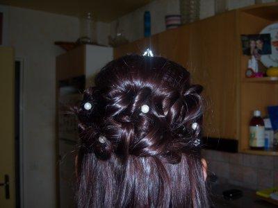 Chignon semi attach vue de pr s blog de shanty coiffure - Coiffure semi attache ...