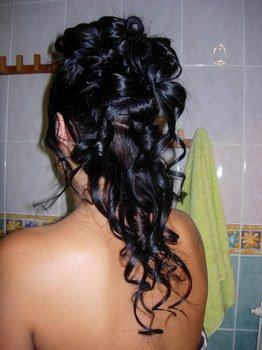 Modele de chignon anglaise blog de shanty coiffure - Coiffure semi attache ...
