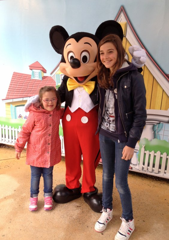 Photo avec Mickey !!!