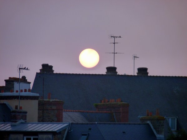 Une matin�e brumeuse � Saint-Brieuc...