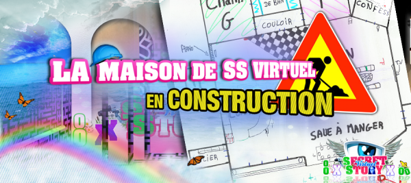 La maison de ss virtuel en construction secret story c - Jeu de construction de maison virtuel ...