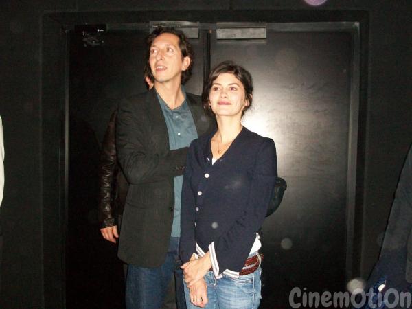 Audrey Tautou couple