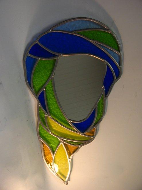 Drapeau berbere 1 miroir arts atlas vitrail for Comment faire un miroir