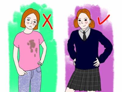 Le port de l'uniforme à l'école est un sujet très controversé ...