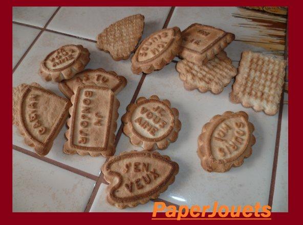 go ts de notre enfance les biscuits sables paperjouets. Black Bedroom Furniture Sets. Home Design Ideas