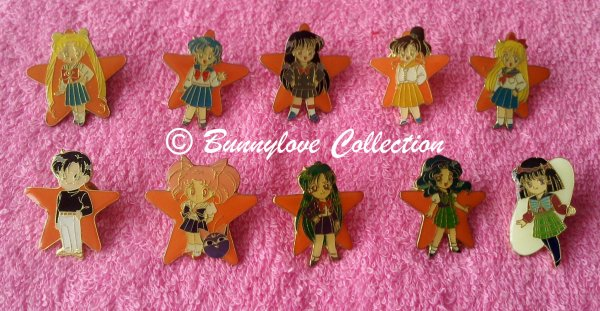 Sailor Moon S Pins